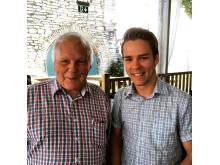 Yngve Andersson och Lorentz Tovatt