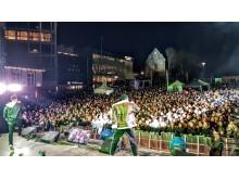 Stavanger Nico & Vinz på scenen