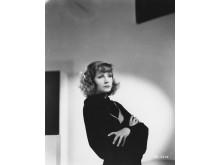 Greta Garbo, från utställningen Bilden av Garbo, visas på Fotografiska Stockholm