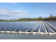 Floating solar power in Belgium