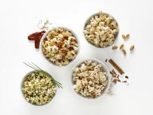 Popcorn maker för mikron 4 skålar