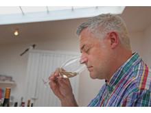 Ernst Kirchsteiger provar vin