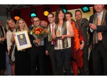 Kristianstad fick priset för Årets stadskärna 2014