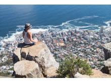 Sydafrika - Utsikt från Taffelberget