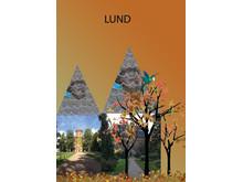 Mitt Lund - en berättelse om en internationell stad, elevaffisch av Marianna Czeska