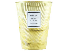2 Wick Cone Tin - Lemon Coco