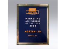 Akrylskylt Award