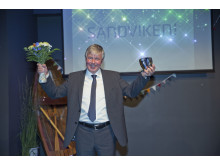 Årets Hyundai-återförsäljare: Kenneth Larsson Bil AB i Sandviken (på bilden Kenneth Larsson)