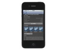 App för övervakning och fjärrstyrning