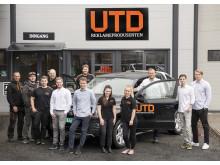 Kontinuerlig vekst for UTD Reklameprodusenten, som nylig kapret den attraktive kontrakten for produksjon av bussreklame i Buskerud. Foto: Erik Skjøldt
