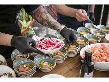 Die zahlreichen Köstlichkeiten begeisterten die Besucher.