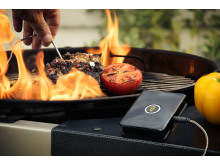 WeGrill One cooking thermometer is an app-enabled thermometer that simply connects to the WeGrill App on your smartphone