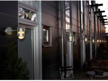 Grönnegade, väggarmatur med ljuskällan LED