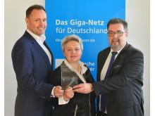 Deutsche Glasfaser startet in Sachsen