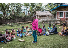 Spès Nihangaza. Burundis fattigaste barn stöttas av barnrättshjälte