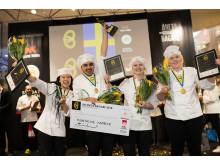 SM Unga Bagare 2018_vinnarfyran_foto Sveriges bagare & konditorer