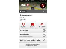 Krak med søgning i Sverige og Norge - 1