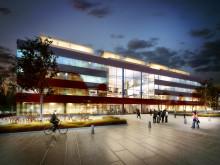 A Working Lab arkitektskiss Tengbom