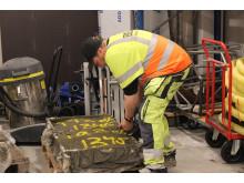 Analys av sprutacceleratorerna och hållfasthetsutvecklingen hos betongen