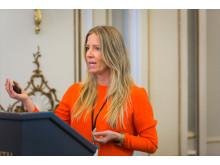 Nina Jensen, generalsekretær i WWF Norge på LOS Energy Day.