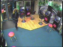 CCTV of robbery