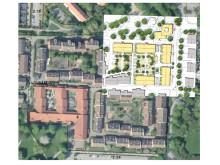 Bild som visar ungefär hur området kommer att utformas