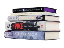 2013 Costa Book Awards Category Winners Stack