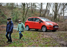 Nya Ford B-MAX - nu också barnfamiljstestad!