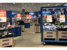 Butiksytan i Kjell & Companys outlet