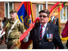 Commemoration: Wood Street in Heywood has been renamed Pte Anthony Palmer V.C. Parade