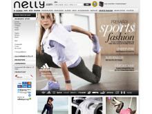Nelly Sports Fashion – ny avdelning på Nelly.com