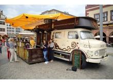 Leipziger Weinfest - Weinstand der Winzergenossenschaft Meißner