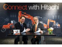 Morten Stand CEO, ABAX och Makoyo Yamazawa  HCME President, Chairman of the Management Board.