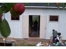 Byggnadsvårdsläger vid Hvita villan 2006
