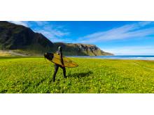 Filmprojekt om iskall nordisk surfing tillsammans med Samsung_2