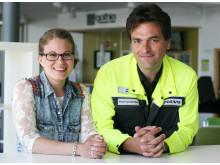 Alexandra Bengtsson och Miso Strbac