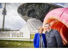 Christa Maar und Manfred Schoch
