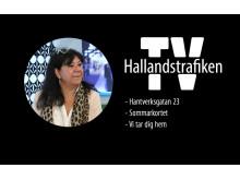 Hallandstrafiken TV - från nya butiken i Halmstad