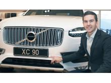 Johan Junvik, Key Account Manager på AXXOS ansvarar för affären med Volvo Cars
