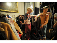 London Fashion Week, bakom kulisserna
