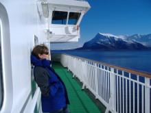 Mit der Fähre nach Norwegen