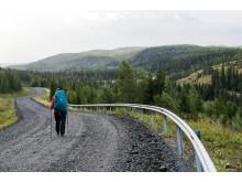 Vandringsbloggens Angeliqa Mejstedt längs S:t Olavsleden säsongen 2016