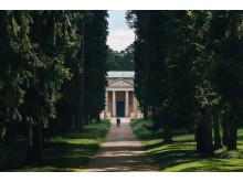 Skogskyrkogården, Sju brunnars stig