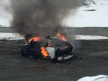 Brann i elbil