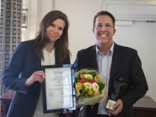 Pfizer Health AB prisas som Sveriges mest jämställda privata arbetsplats