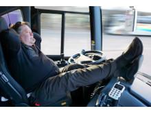 Swebus testar semi-självkörande bussar