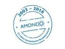 Seit 2003 - erfolgreich mit AMONDO