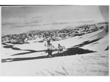 Kvinne på ski