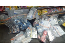 Op Brut cigarettes and tobacco seized by HMRC in Merseyside