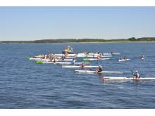 Kalmar Surfski Wavechallenge 2014, starten